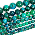 "Synthetic Chrysocolla Gemstone Round Loose Spacer Beads 15"" 4mm ~ 16mm"