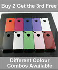 CLASSIC SHINY SERIES HARD CASE BACK COVER BUMPER FITS IPHONE 4 4S * BUY 2 GET 3
