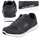 Skechers 51182 CCNV Synergy Sneakers NEW FlexSole MENs Shoe Gray Charcoal-Navy