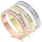 1/4CT Channel Set Diamond Wedding Ring 14K