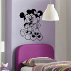 LARGE CHILDRENS WALT DISNEY MINNIE MICKEY MOUSE WALL ART STICKER TRANSFER POSTER