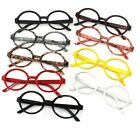 Unisex Schoolboy Round Fashion Vintage Plastic glasses frame no lens Fancy Dress