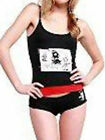 EMILY THE STRANGE~TROUBLE MAKER CAMI TANK TOP SHORTS BRIEFS SET PAJAMAS PJS NEW