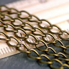 15ft Antique Bronze Plated Link Chains 6x4mm c210 PICK