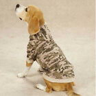 Casual Canine Digital Camo Camouflage Dog Fleece Hoodie Sweatshirt Coat XXS-XXL