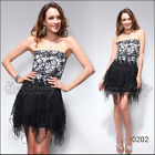 Bridesmaid 2015 Lace Halloween Costume Cocktail Short Clubbing Party Dress 00202