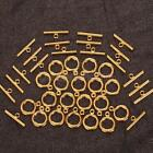 20/ 25/ 40/ 50 Sets Toggle Clasps For Jewelry Making Repair Supplies NEW