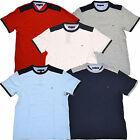 Tommy Hilfiger T Shirt Mens Solid Classic Fit Casual Tee Th Flag Logo S/s M086