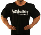 BLACK HARDCORE WORKOUT TOP BODYBUILDING CLOTHING