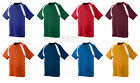 Augusta Sportswear Men's Moisture Wicking Short Sleeve Color Block T-Shirt. 218