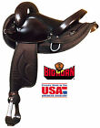 "Big Horn Synthetic Endurance Saddle (15"" or 16"")(Black or Brown)"