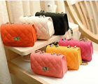 Women Bag PU Handbag Messenger Cross Body chain Shoulder Evening Baguette Hobo