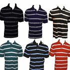 Tommy Hilfiger Mens Polo Shirt Short Sleeve Solid with Contrast Stripe V080