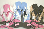 JAYWALKER 'POLKERRIS' LADIES FLIP FLOPS PINK/ BROWN/BLUE SIZES 3-4, 5-6, 7-8 UK