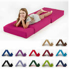 Single Fold Out Block Foam Z bed Sofabed Guest Chair Bed Folding Mattress Futon