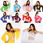 New Style Sexy Belly Dance Dancing Lace Blouse Choli Top Bra Dancewear Costumes