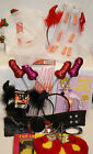 CREATE A HEN PARTY KIT VEILS,STRAWS,WHISTLES.HEAD BOPPERS,HANDCUFFS
