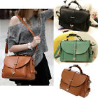 Womens Faux Leather Shoulder Bag Satchel Purse Messenger Handbag Tote GL Sale