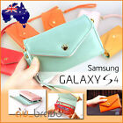 Leather Credit Card Wallet Purse Case For Samsung Galaxy S4 SIV i9500 4G i9505