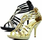 Fashion Stiletto Open Toe Platform Office High Heel Pump Evening Dress Shoes