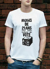 Vote with a brick T-Shirt Atelier Populaire Paris 1968 protest Tshirt L324