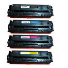 4 Replaces For HP CB540A/CB541A/CB542A/CB543 Toner Cartridges