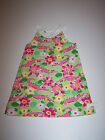 NWT GYMBOREE ISLAND LILY SHIFT DRESS PINK ALLIGATORS/LILY PRINT SZ 6 7 8 9 10 12