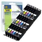 18 Compatible Canon CLI-551 / PGI-550 Ink Cartridges for Pixma Printers