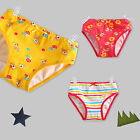 "3 Pcs NEW Vaenait Baby Toddler Kids Girl Underwear Briefs Pantie Set ""Bambi"""