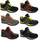 MENS WORK SAFETY STEEL TOE CAP LIGHTWEIGHT NEW STYLES BOOT TRAINERS SHOES 3-13
