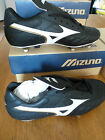MIZUNO BLACK SCREW IN / CHANGEABLE STUDS FOOTBALL BOOTS    BNIB