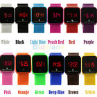 Unisex Digital LED Touch Screen Wristwatch Date Sport Silicone Wrist Watch BB1U