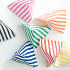 150 x CANDY STRIPE PAPER SWEET FAVOUR BUFFET BAGS -5x7 INCHES