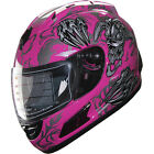 Motorcycle Helmet Full Face Sports Helmets DOT 160 pink