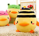 cute changeable chicken turns to bee frog rabbit cushion & hand warmer gift 1pc