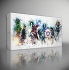 THE AVENGERS MARVEL - PREMIUM GICLEE CANVAS ART PRINT *Choose your size