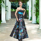 Ever Pretty Ladies Printed Long Maxi Evening Formal Dress Party Prom Gown 09620