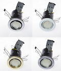 1 X TILT FIRE RATED GU10 SMD 3W LED DOWNLIGHT SPOTLIGHT RECESSED CEILING