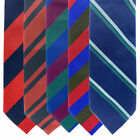 REGIMENTAL MILTARY TIES - AGC , ENGINEERS, SIGNALS, SCOTS, ROYAL WELSH