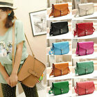 New Fashion Lady's PU Leather Crossbody Satchel Shoulder Messenger Bag Handbag