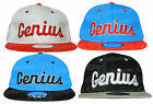 B92 ADULT UNISEX GENIUS SNAP BACK RETRO HIP HOP BASEBALL CAP HAT ADJUSTABLE SIZE