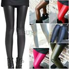 Faux PU Leather Sexy Hot Fashion Leggings Skinny Pencil Pants Tights Trousers