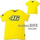 New Official Valentino Rossi VR46 VR 46 Yellow T'Shirt Mens
