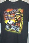 BROTHERS OF THE WIND  T Shirt Black   Sz Sm - 5XL Unique Motorcycle Artwork