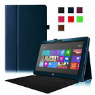 For 10.6 inch Microsoft Surface RT Tablet Folding Leather Smart Case Cover Stand