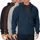 Men Hooded Jackets DICKIES Zipper Fleece Hoodie Sweatshirts Sweater TW368 Black