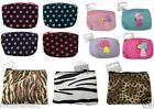 NOVELTY COIN ZIPPED PURSES VARIOUS DESIGN IDEAL GIFT/PARTY BAGS/STOCKING FILLER