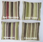 """Stripe Two Large 22"""" x 22"""" (56cm x 56cm) Cushion Cover Or Complete One Pair"""