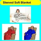 Luxury Super Soft Sleeved TV Sofa Multi-Use Thermal Warm Wrap Blanket