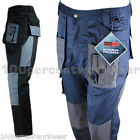 Blackrock Cargo Combat Work Trousers Pants Knee Pockets 65% Polyester 35% Cotton